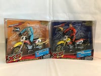 Motocross action figures with bikes!! Edmonton, T5W 3H5