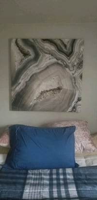 Large textured canvas