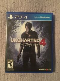 UNCHARTED 4: A THIEF'S END for PS4. Like NEW. Bridgeton, 08302