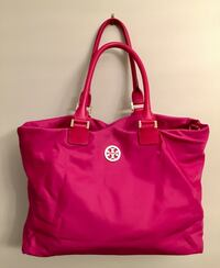 Tory Burch Large Magenta Tote Purse  Toronto