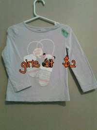 white and red Mickey Mouse print long-sleeved shirt Calgary, T3B 0T3