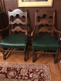Twin Arm Chairs New York, 11218