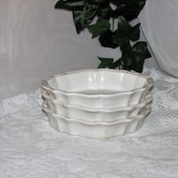 3 Individual Oval Casserole or Serving Dishes Mississauga