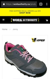 Steel toe women's runners