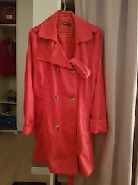 Trench-coat rouge pour femme Thoiry, 78770