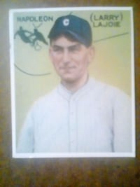 Napoleon Larry Lajoie trading card Stanley, 28164