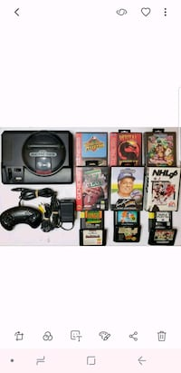 Sega genesis and 12 games Oakville