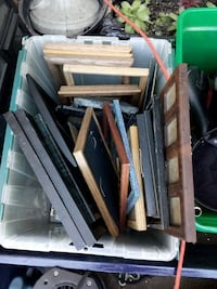 25+ picture frames ... good wood Springfield, 97477