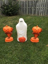 Outdoor Halloween decorations-all 3 for $10 Brampton, L6V