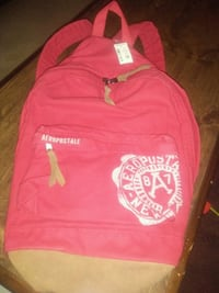 Aeropostale Red Book Bag new w tag Johnstown, 15905