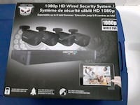 High definition 4  camera security system