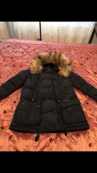 PM parka coat worn twice, almost new
