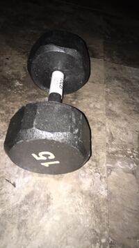 2 x 15 lbs and 2 x 10 lbs dumbells  Red Bank, 07701