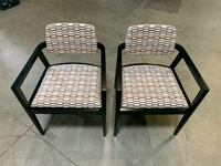 2 Gunlocke high end chairs