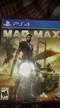 Sony PS4 Mad Max game case Champlain, 12919
