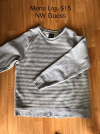 Mens Guess Sweater- Lrg Cambridge, N1R