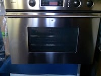 Stainless steel bosch oven