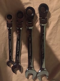 Gearwrench 4 peice flex-head ghratchdting combo wrench set  Pomona, 91766