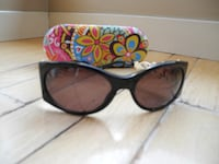 black framed Ray-Ban wayfarer sunglasses KELOWNA