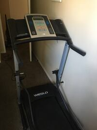 black and gray Altis treadmill Calgary, T2N 4K3