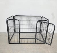 """New $50 Heavy Duty 37""""x25""""x24"""" Pet Playpen Dog Crate Kennel Exercise Cage Fence, 4-Panels Play Pen South El Monte"""