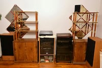 Stereo System, Bookshelves $298 Brooklyn, 11208