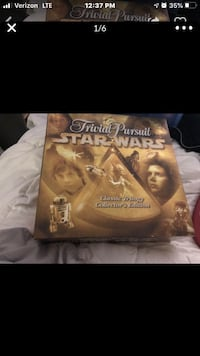 Star Wars Trivial Pursuit collectors edition- never used