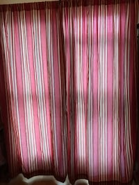 "2 Lined curtain panels. Line 84"" long. Chicago, 60631"