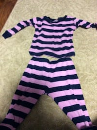 striped pj 12-18 m  Rockville