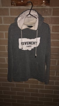 Grey Givenchy hoodie