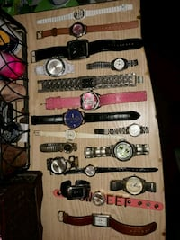 All different sorts of watches