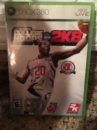 Xbox 360 college hoops 2k8, new, never opened. Boonsboro, 21713