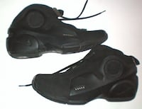 Nike Air Flightposite Mid Top Basketball Shoes Black London