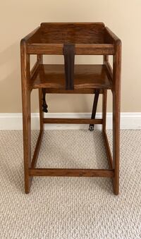 Child High Chair Table Height All Wood Herndon, 20171