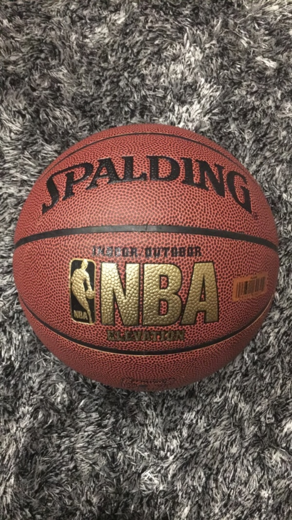 Spalding Neverflat NBA Basketball Size 5 - Indoor/Outdoor (Perfect Condition)