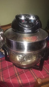 black and clear Kitchen Hero halogen oven St Thomas, N5R 4G1