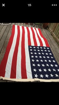 Vintage antique WWII Burial Flag Crown Point, 46307