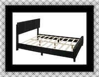 Queen bed platform bed with mattress Capitol Heights, 20743