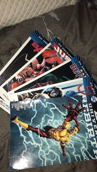 DC rebirth comic books Calgary, T3K 5M5