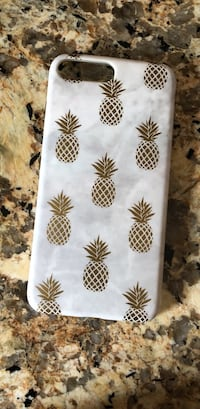 White and black pineapple textile