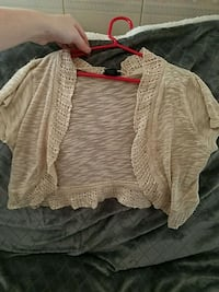 Cream Colored Cardigan Independence
