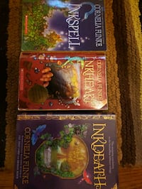 Inkheart Trilogy Books