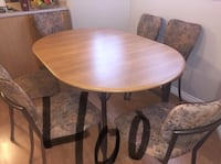 GREAT CONDITION Dining Table with 6 Chairs  Calgary, T3E 6R6