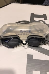Like New Swimming Goggles & Case