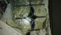 Victorian stained glass windows set of 3 Stockton, 95205