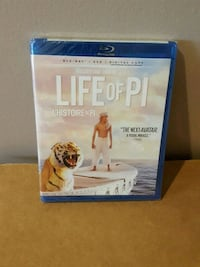 life of pi bluray NEW SEALED !! 616 km