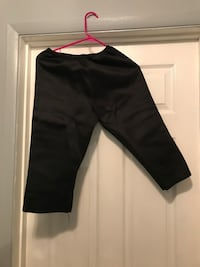 Neoprene workout pants
