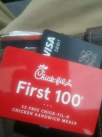 Chik Fil A 49 #1 Meals sorry used just used 3