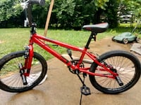 red and black BMX bike Trotwood, 45416