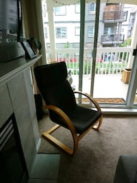 black and brown wooden armchair Langley, V3A 3R9